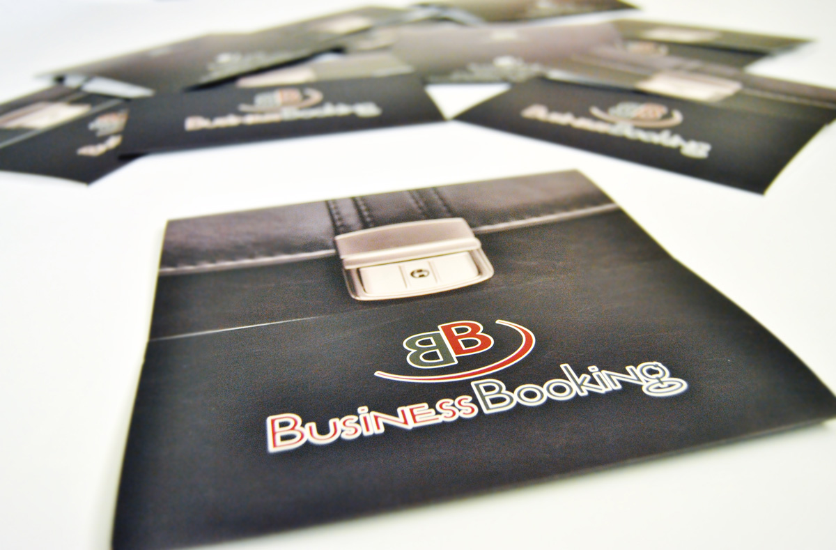 Business Booking Pieghevole by Maniac Studio