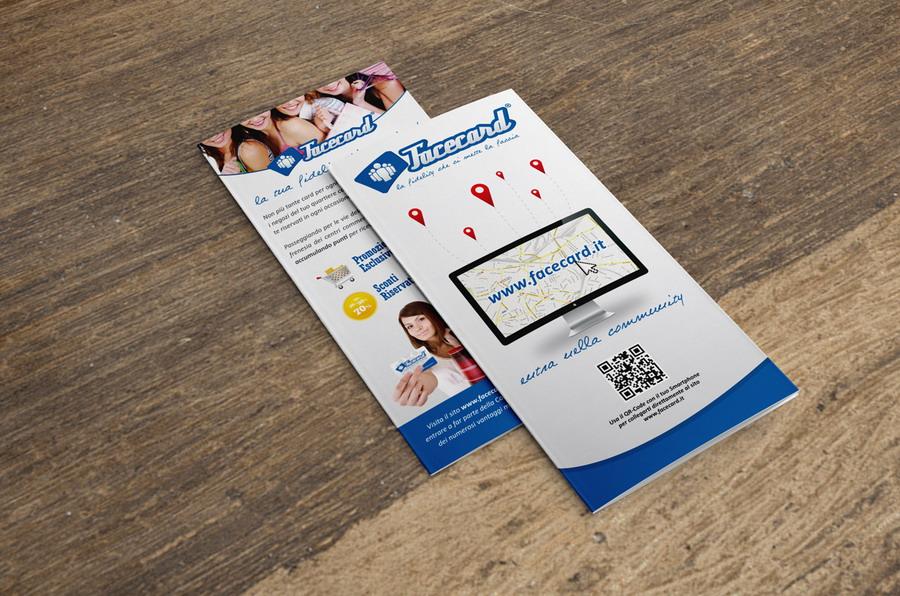 Facecard Pieghevole by Maniac Studio
