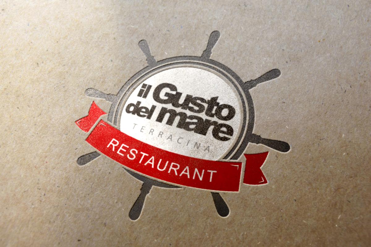 Il Gusto del mare Logo by Maniac Studio