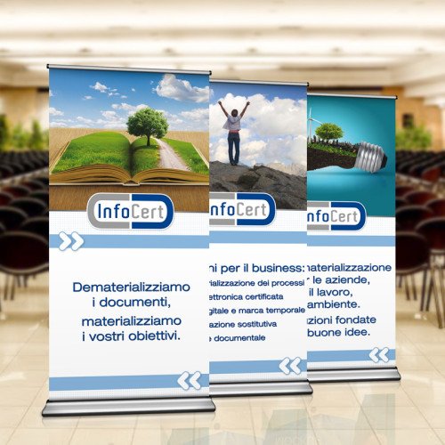 Infocert Roll-Up by Maniac Studio