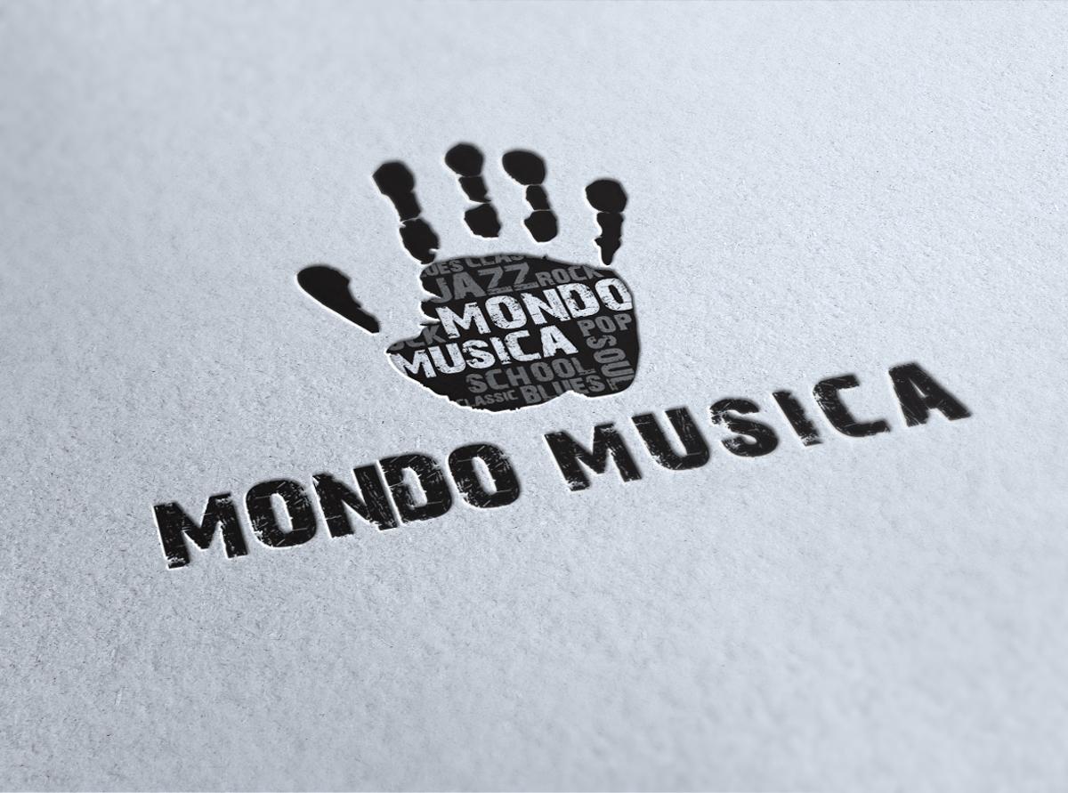 Mondo Musica Logo by Maniac Studio