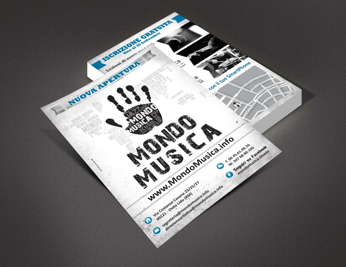 Mondo Musica Volantini by Maniac Studio