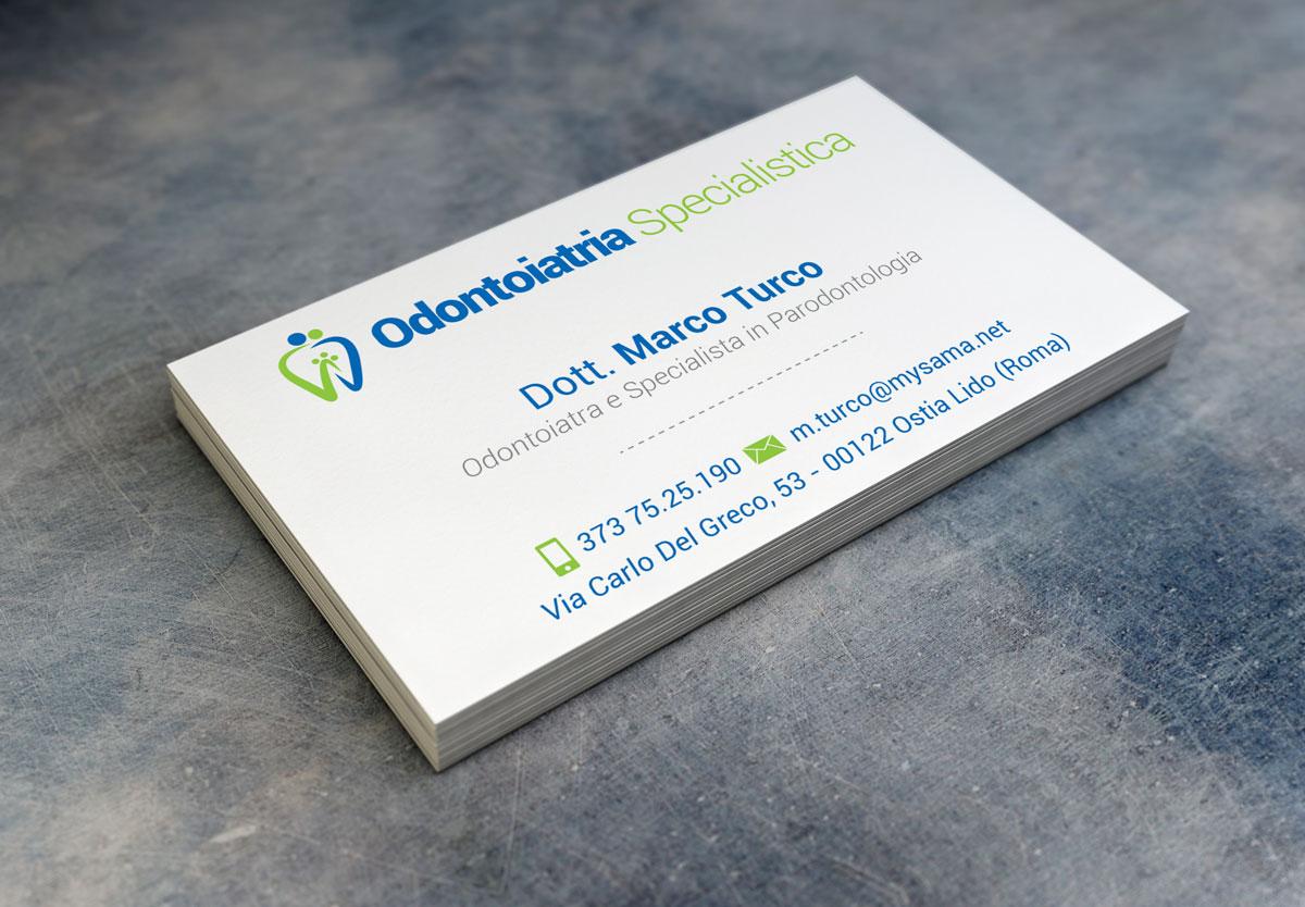 Odontoiatria Specialistica Biglieti da Visita by Maniac Studio