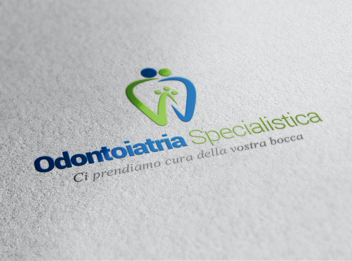 Odontoiatria Specialistica Ideazione Logo by Maniac Studio