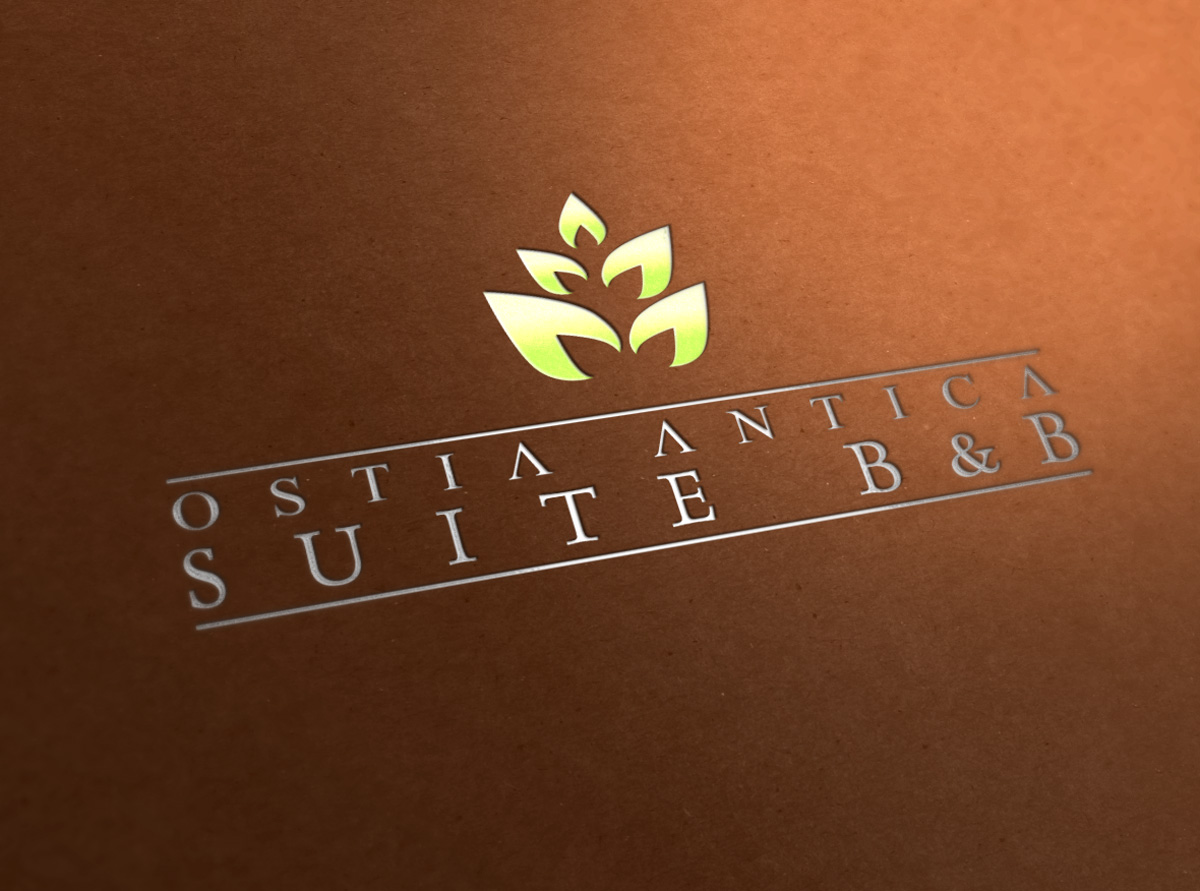 Ostia Antica Suite B&B logo by Mania Studio
