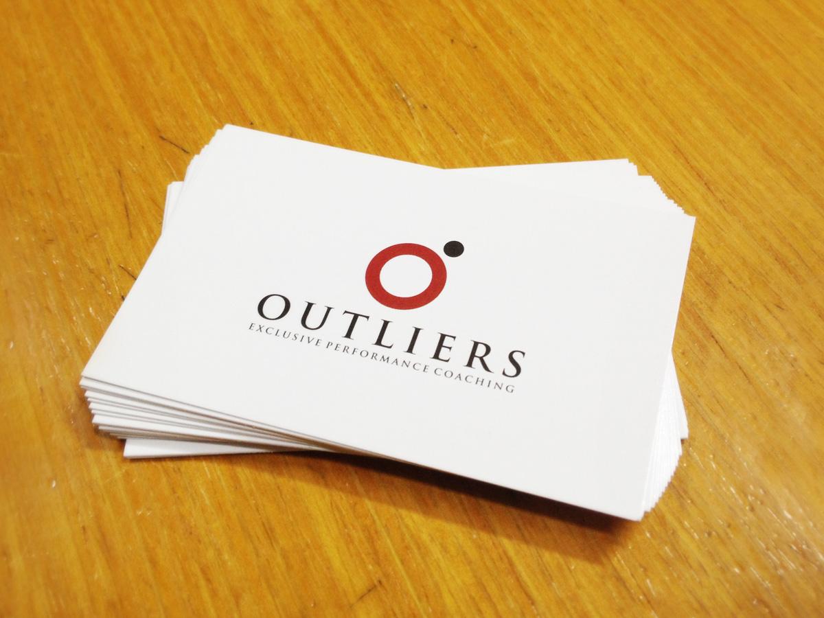 Outliers Bigliettini da visita by Maniac Studio