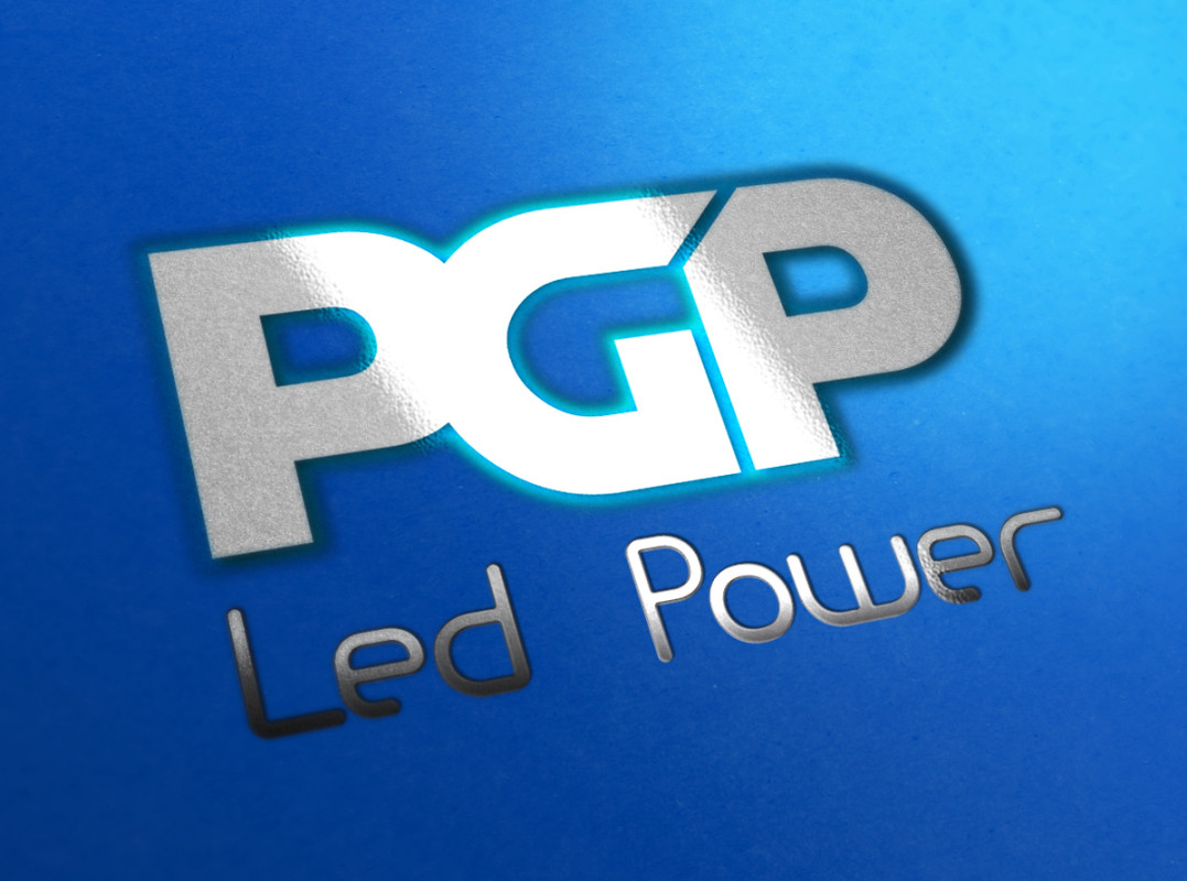 PGP Led Power Logo by Maniac Studio