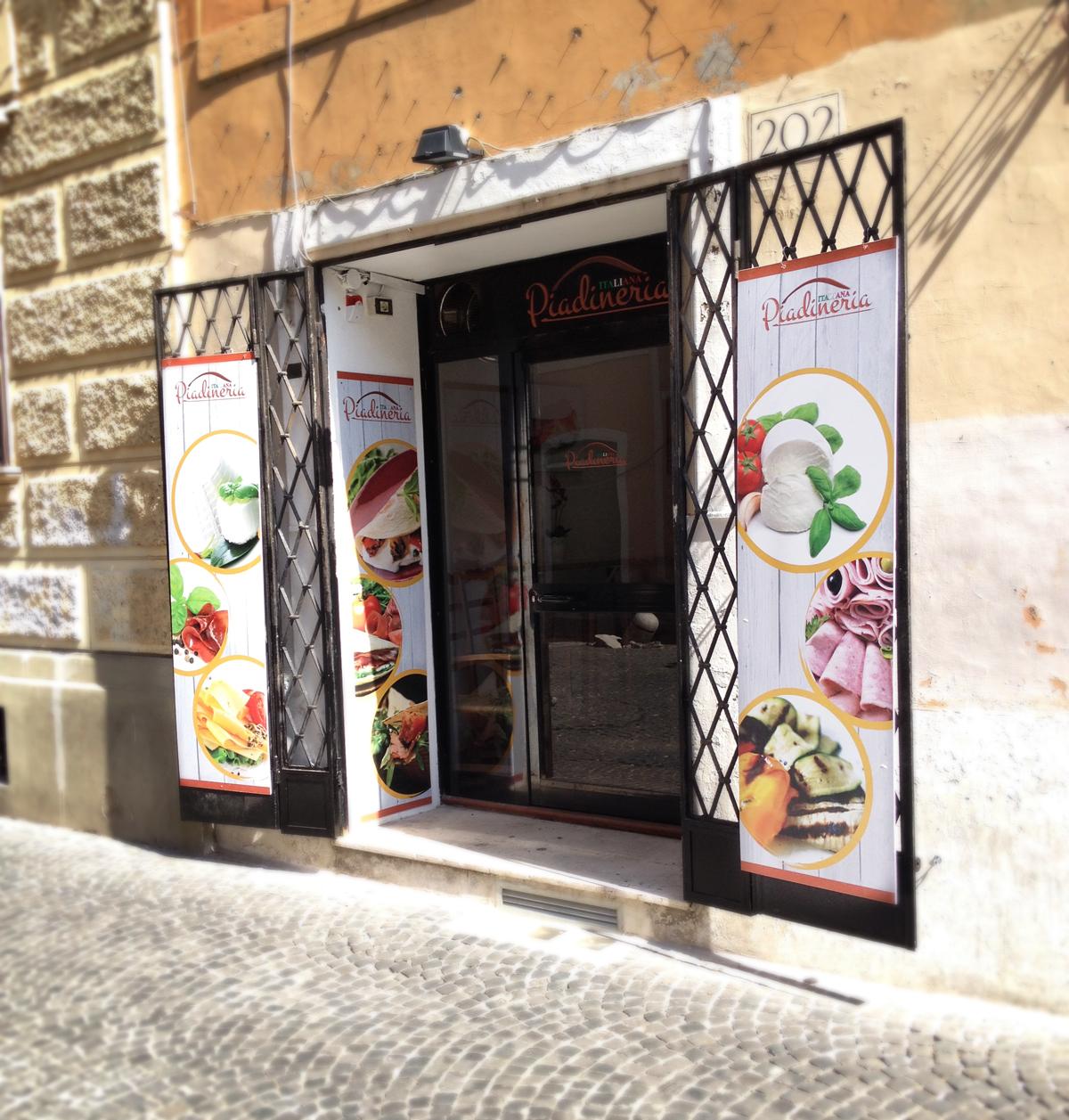 Piadineria Italiana Pannelli by Maniac Studio