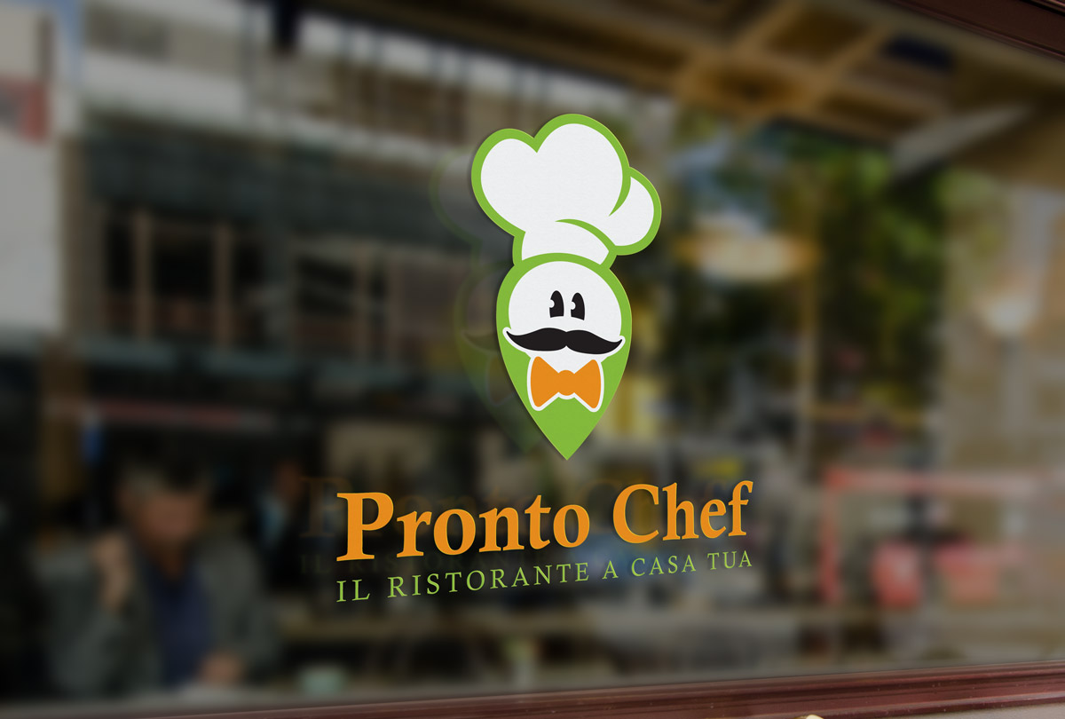 Pronto Chef Logo by Maniac Studio