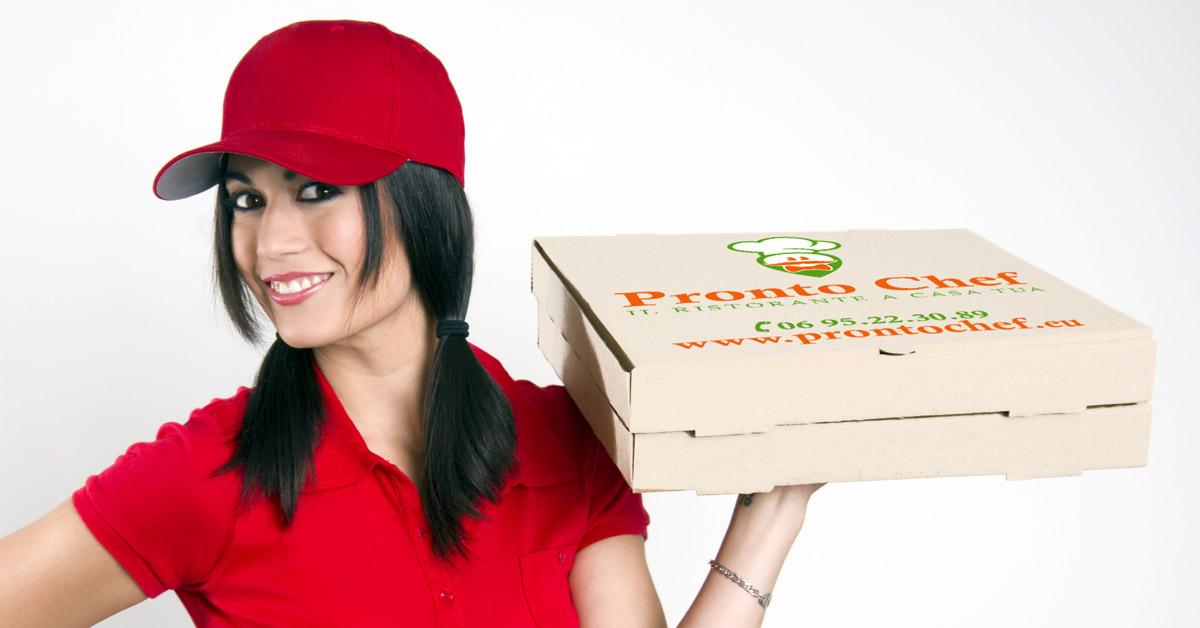 Pronto Chef Scatola Pizza by Maniac Studio