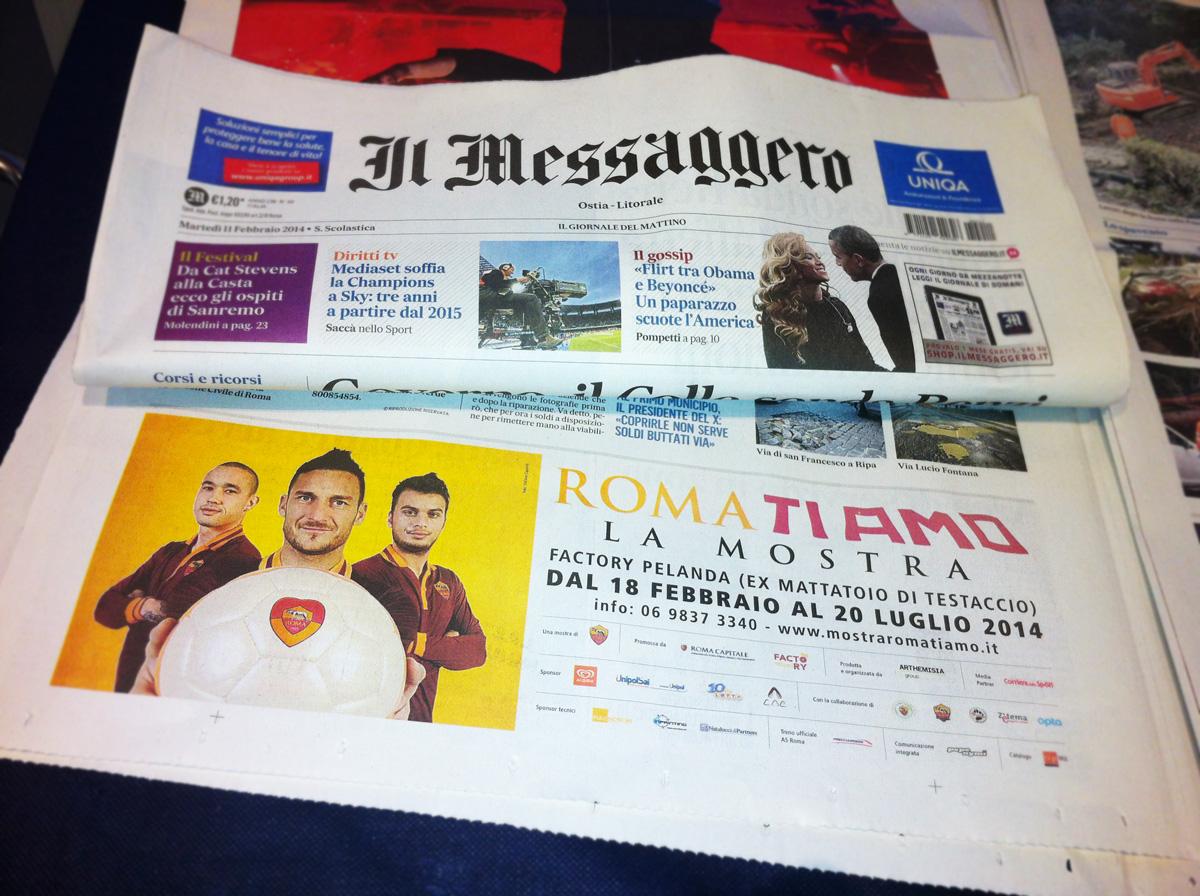 Roma ti amo Servizio Fotografico Messagero by Maniac Studio