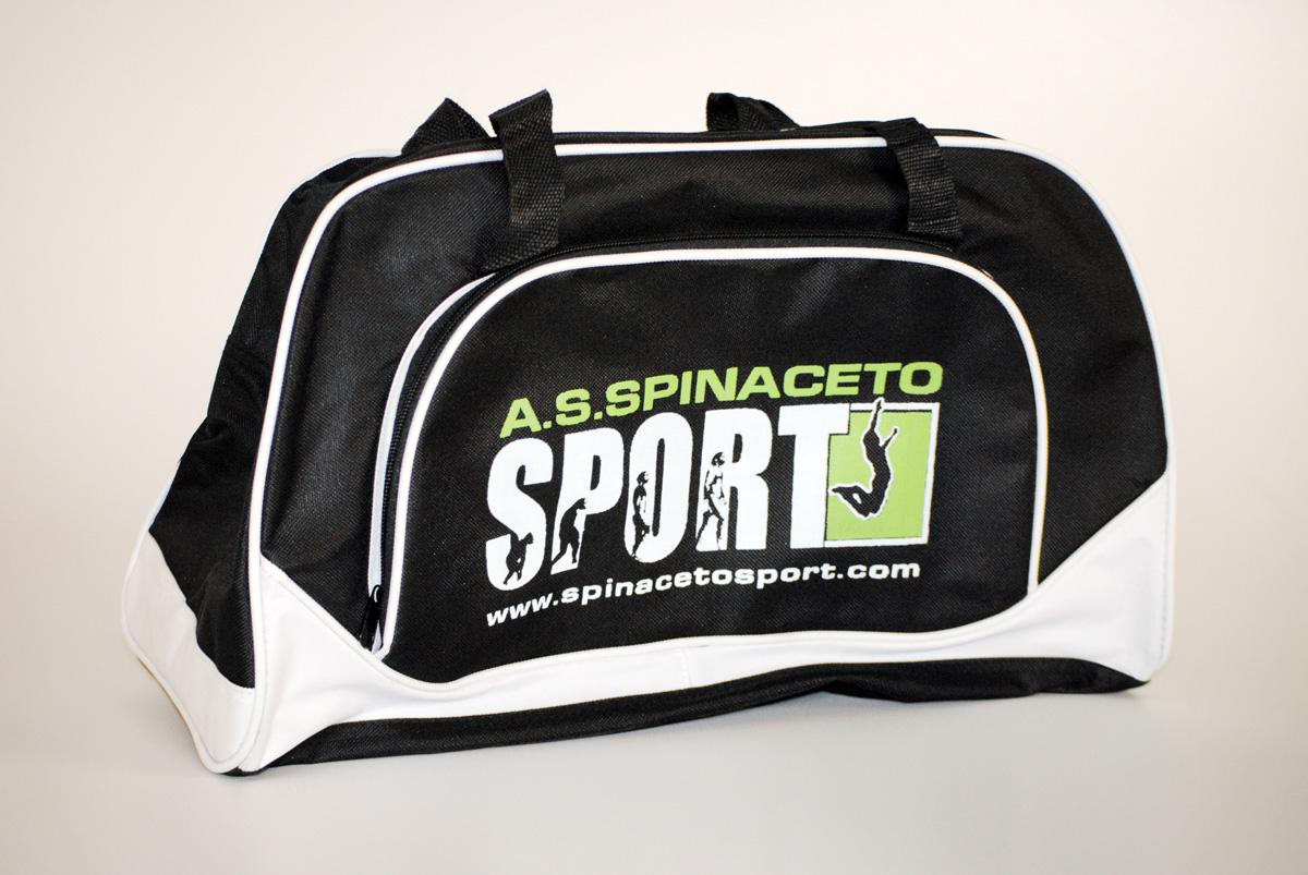 Spinaceto Sport Borsa Personalizzata by Maniac Studio