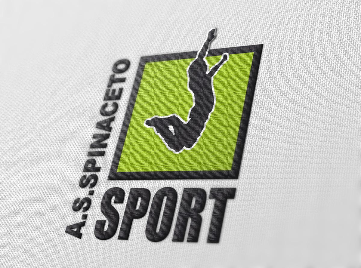 Spinaceto Sport Logo by Maniac Studio