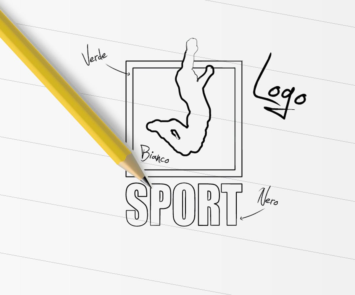 Spinaceto Sport Studio Logo by Maniac Studio