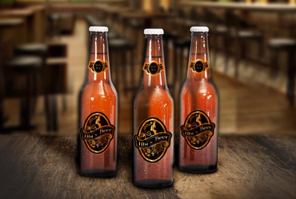 Ubi's Beer Etichette by Maniac Studio