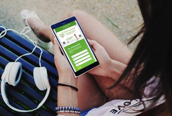 VF Dietologo Nutrizionista sito web by Maniac Studio