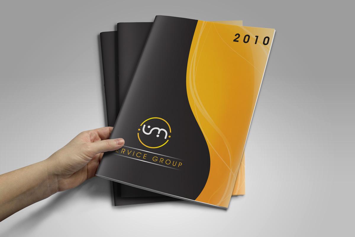 VM Services Group Grafica Catalogo by Maniac Studio