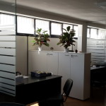 Firotek Decorazione Vetrofania Ufficio by Maniac Studio