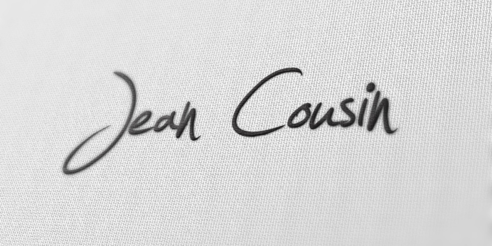 Jean Cousin logo by Maniac Studio