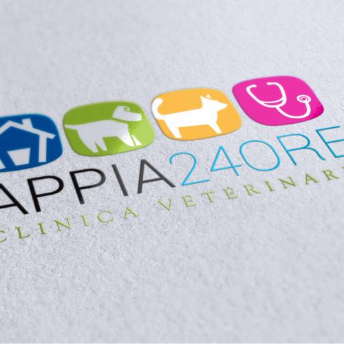 Logo Appia 24 Ore by Maniac Studio
