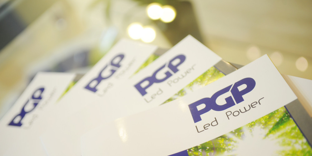 PGP Led Power Catalogo Prodotti by Maniac Studio